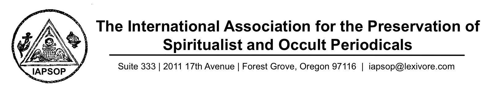 International Association for the Preservation of Spiritualist and Occult Periodicals